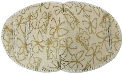 Gold Butterflies - Medical Adult Glasses Patch Soft and Washable Sold to the NHS