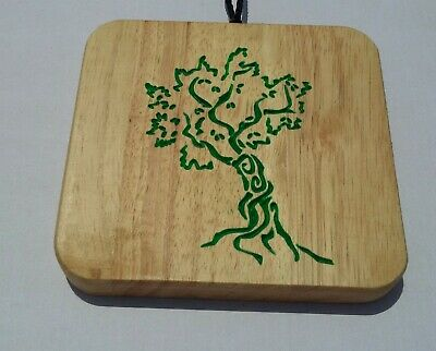 Wood Wall Hanging Olive Tree Carving
