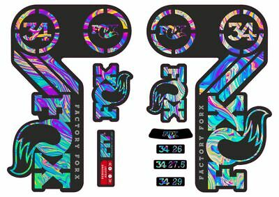 Fox Heritage Decal Sticker Kit Green Limited Edition for ATV Float Evol Shocks