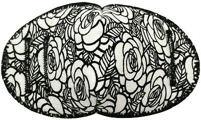 White Roses - Medical Adult Glasses Patch Soft and Washable Sold to the NHS