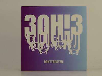 3OH!3, DONT TRUST ME (CLEAN), EX/EX, 3 Track, Promo CD Single, Card Sleeve,