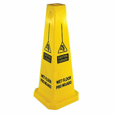 "Impact® Caution Wet Floor Sign - Four Sided, Spanish/English, 25"" , 23816,"