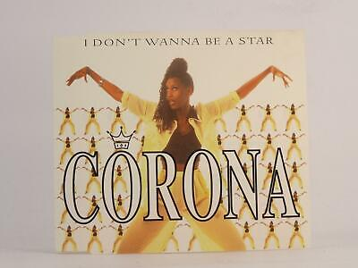CORONA, I DON'T WANNA BE A STAR, 957, EX/EX, 5 Track, CD Single, Picture Sleeve,