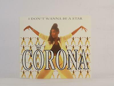 CORONA, I DON'T WANNA BE A STAR, 862, EX/EX, 5 Track, CD Single, Picture Sleeve,