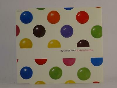 LIGHTNING SEEDS, READY OR NOT, 845, EX/EX, 3 Track, CD Single, Picture Sleeve, E