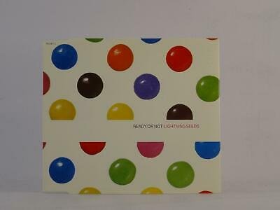 LIGHTNING SEEDS, READY OR NOT, 847, EX/EX, 3 Track, CD Single, Picture Sleeve, E