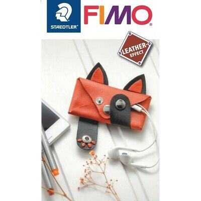 FIMO Leather Effect Polymer Modelling Clay Oven Bake