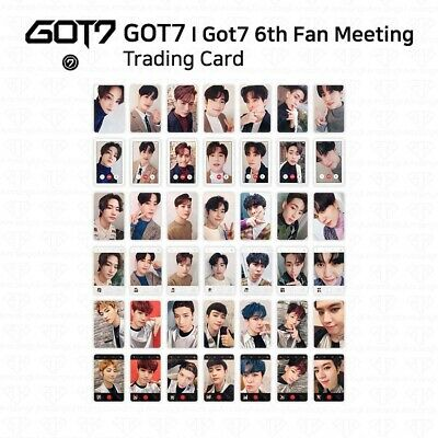 GOT7 I GOT7 6th Fan Meeting Once Upon A Time The Winter We Loved Trading Card