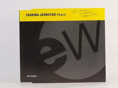 SABRINA JOHNSTON, PEACE, 779, EX/VG, 3 Track, CD Single, Picture Sleeve, EAST WE