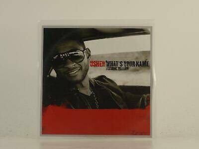 USHER FT WILL.I.AM, WHAT'S YOUR NAME, EX/EX, 1 Track, Promo CD Single, Picture S