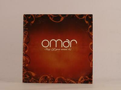 OMAR, SING (IF YOU WANT IT), 484, EX/EX, 14 Track, Promo CD Album, Card Sleeve,