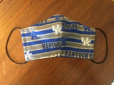 UNIVERSITY of KY WILDCATS UK - Protective Face Mask #2  Washable - FREE US SHIPG