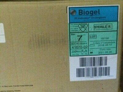 Biogel Gloves Size 7 REF: 41670-02 (Box of 200)