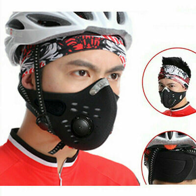Air Purifying Face Mouth Washable Dustproof Fog Cycling Riding Outdoor Sports