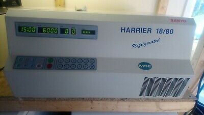 MSE Harrier 18/180 Refrigerated Benchtop Centrifuge MSB080.CR2.K 6000rpm
