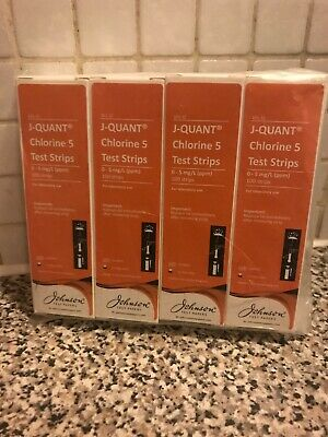 Johnson J-QUANT Chlorine 5 Test Strips X 400