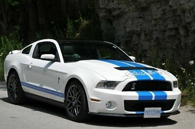 Ford: Mustang GT500 2011 Shelby GT500 Tribute Prototype (1 of 2)