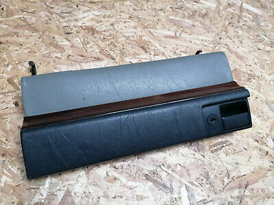 mercedes w124 glove box cover door leather