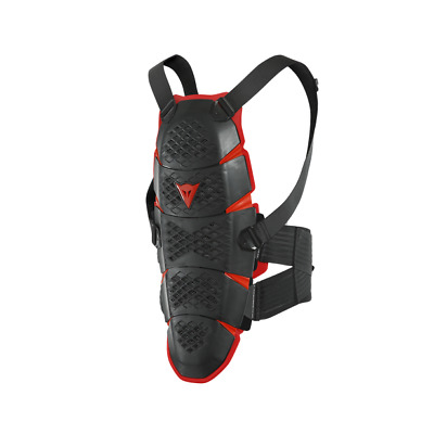 New Dainese Pro-Speed Short Back Protector XS/M Black/Red #201876168-606-XS/M