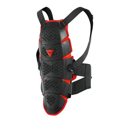 New Dainese Pro-Speed Long Back Protector L/2X Black/Red #201876170-606-L/2X