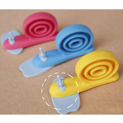 Baby Safety Door Stop Stopper Protecting Protector Children Snail Shaped LI