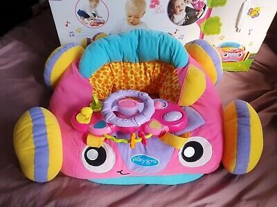 Playgro Music And Lights Comfy Car (Pink) for Baby Infant Toddler - New not used