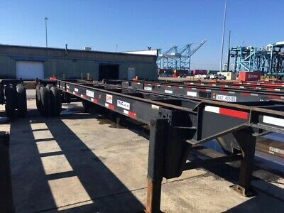 24 x 40 Ft Gooseneck Container chassis Intermodal Equipment 3600.00 each