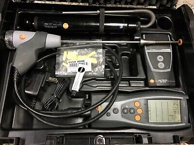 Used Testo 327-1 Electronic Flue Gas Combustion Analyzer