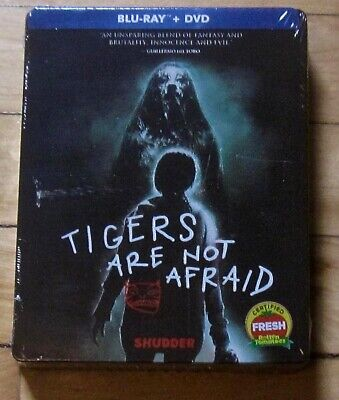 Tigers Are Not Afraid Blu-ray/DVD SteelBook RLJ Entertainment  May  2020