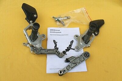 BMW HP Powersports Footrests Rearset Pegs K1300S K1300R