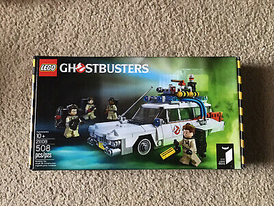 B2G1F Lego Ghostbusters  Ecto1A Stickers//Water Slides Ecto Not Included