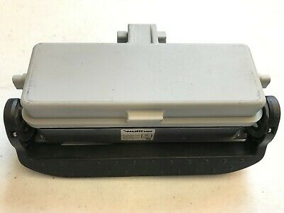 Walther PB424 Single Locking Panel Mount Housing with Cover