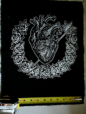 Spider mythology punk goth occult black metal patch by Mike Vivisector