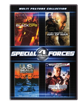 Gooding,Cuba Jr.-4 Film Special Forces Set Dvd Neuf