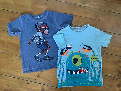 Marks & Spencers Boys T-Shirt Top Bundle Age 2-3 Years