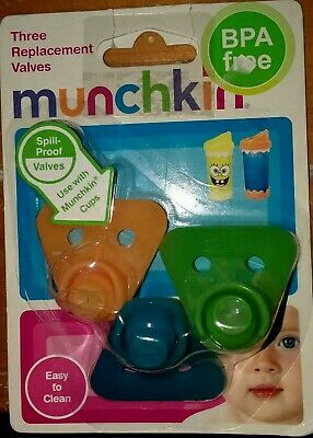 Munchkin Replacement Valves, 3 Pack