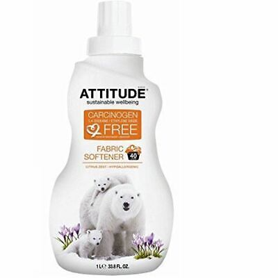Attitude Fabric Softener - 40 loads - Citrus Zest - 1000ml