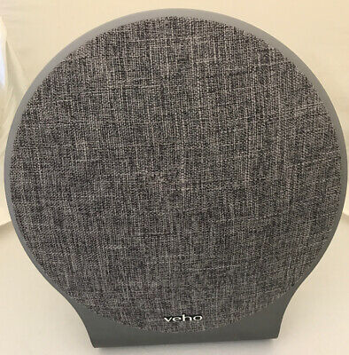 Veho M10 60W Wireless Portable Bluetooth Speaker with Microphone - Grey - Used