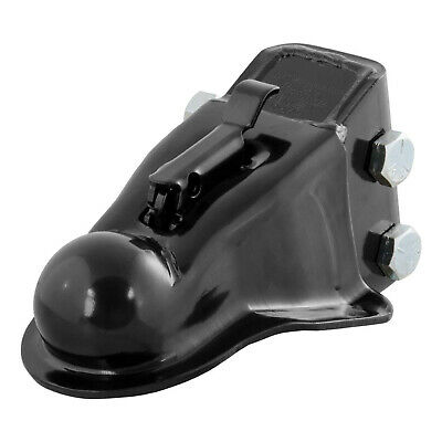 CURT 25330 Channel Mount Adjustable Trailer Coupler Accepts 2-5/16 In Hitch Ball