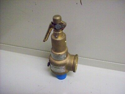"bb) NEW Kunkle Admiral 1"" Pressure Relief Valve 6010FEM01-AM"