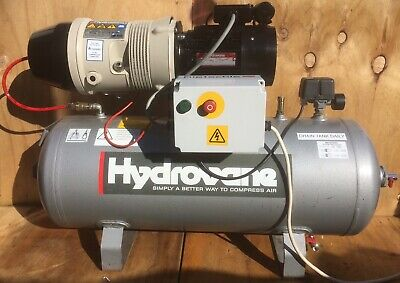 Hydrovane 502 Receiver Mounted  Compressor 2.2kw! 240v Single Phase!!