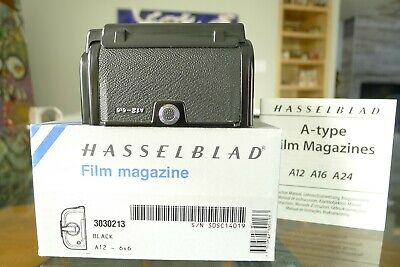 Hasselblad A12 Film Back Black Latest Matching insert Box Excellent+++ Condition