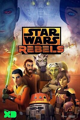STAR WARS REBELS 11x17 TV SERIES POSTER PRINT #7