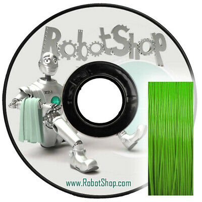 Bright Green PLA 250g 1.75mm (With Spool)