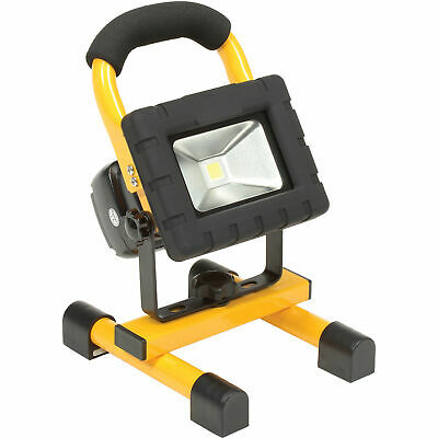 LED Rechargeable Work Light, 2 Batteries, Car/AC Adapter, USB Port, Magnetic