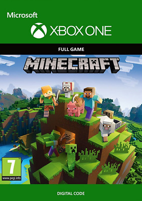 Minecraft (Microsoft Xbox One) Full game, DIGITAL DOWNLOAD KEY! FAST DELIVERY!!!