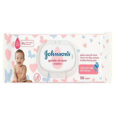 JOHNSON'S COTTON TOUCH EXTRA SENSITIVE BABY WIPES 56-672pcs UK