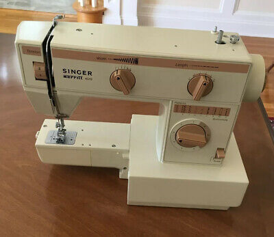 Vintage Singer Merritt Sewing Machine, Model 4019, New Old Stock