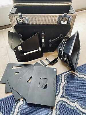 MOVIECAM MATTE BOX - Swing Away - 4x5.65 Slots - French Flags - Road Box - USED