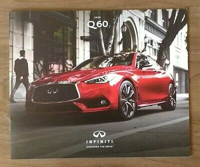 2020 INFINITI Q60 sales brochure catalog 20 US 3.0t Pure Luxe Red Sport 400